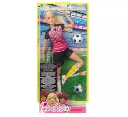 Barbie Futbol Soccer Made To Move Mattel