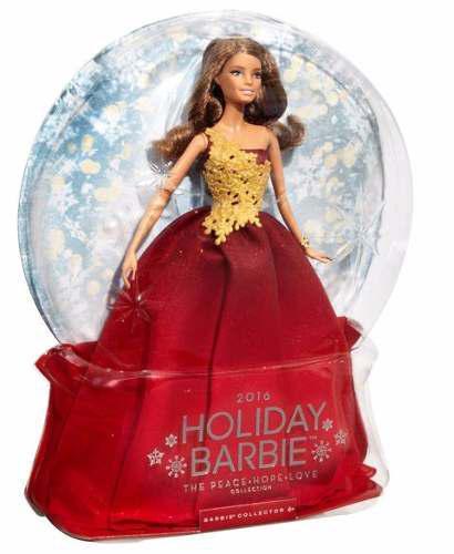 Barbie Holiday 2016 Latina Barbie Collector Felices Fiestas