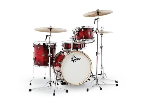 Bateria 4 Pzs Carmesi Burst Gretsch Catalina Club Ct1j484gcb