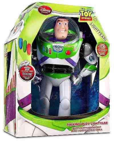 Buzz Lightyear Toy Story Sonidos Disney Store Original