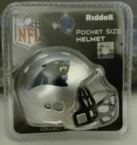 Casco Nfl Pocket Helmet Panteras De Carolina