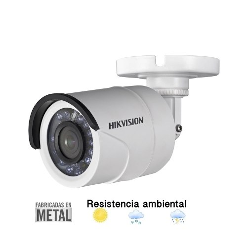 Cámara Hikvision Turbohd p Metal Gran Angular 2.8 2mp