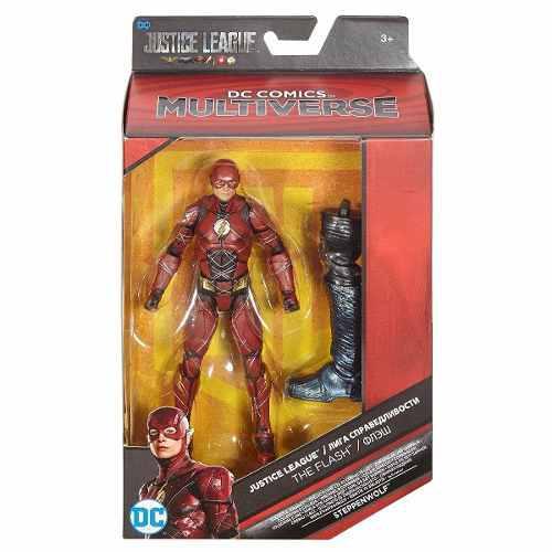 Dc Comics Multiverse Flash Liga Justicia Baf Steppenwolf