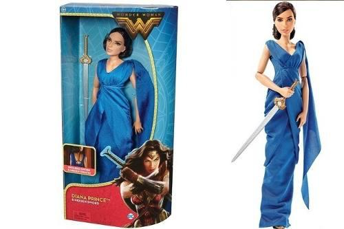 Dc Comics Wonder Woman 1 Barbie Mujer Maravilla C/maltratada