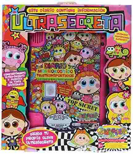 Diario De Voz Secreto Distroller My Password Diario Mattel