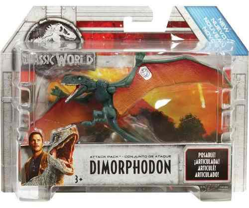 Dinosaurio Jurassic World Velociraptor Naranja Nuevo Sellado