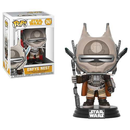 Figura Coleccionable Funko Pop Star Wars Han Solo Enfys Nest
