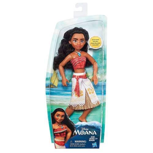 Figura Muñeca Moana Básica Disney Princesas Hasbro