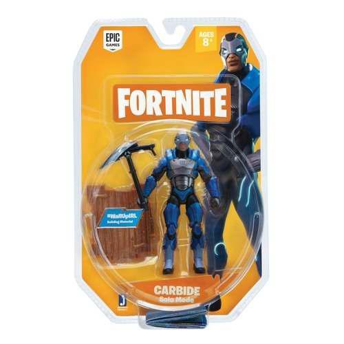 Figura Original Jazwares Fortnite Carbide Solo Mode 10cm