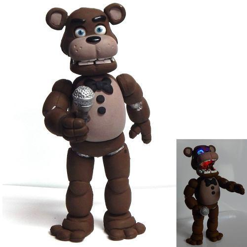 Five Nights At Freddys Figura Freddy Fazbear Con Luz Led