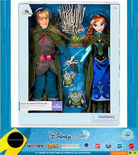 Frozen Set De Anna Y Kristoff De La Boda Trol Disney Store