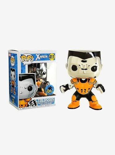 Funko Pop Colossus X Force Cromado Marvel X-men Exclusivo