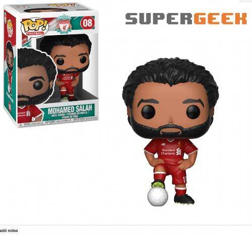 Funko Pop Futbol - Mohamed Salah Liverpool (1)