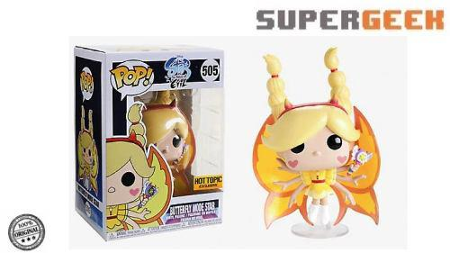 Funko Pop Star Vs The Forces Of Evil Butterfly Star