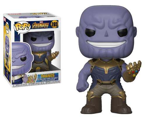 Funko Pop Thanos Marvel Avengers Infinity Wars Coleccionable