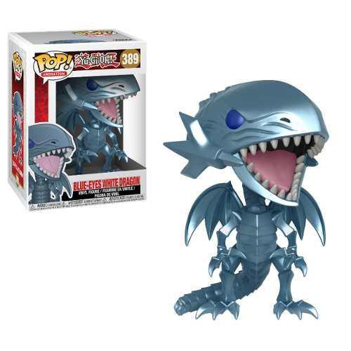 Funko Pop Yu Gi Oh! Blue Eyes White Dragon 389 Ojos Azules