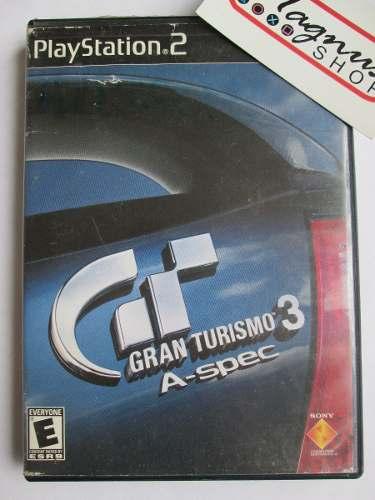 Gran Turismo 3 A Spec Playstation 2 Ps2 Completo Carreras Gt