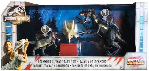 Jurassic World Set Lockwood Indoraptor & Blue Battle Damage