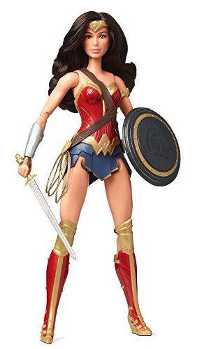 La Figura De Barbie Liga De La Justicia De La Mujer Maravill