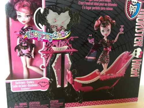 Monster High Bañera Draculaura Envío Gratis Oferta