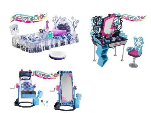 Monster High Tocador Cama Frankie, Cama Abbey Shopping.chic