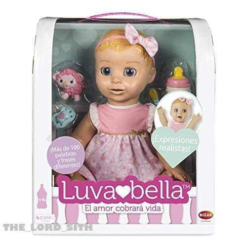 Muñeca De Verdad Luvabella Bebe Con Movimientos