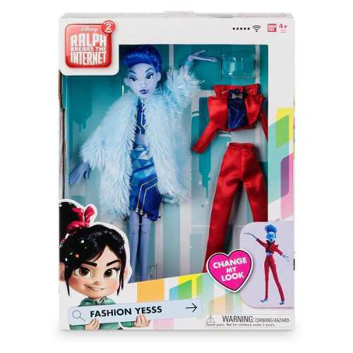 Muñeca Fashion Yesss Ralph Wifi Disney Store 30 Cm