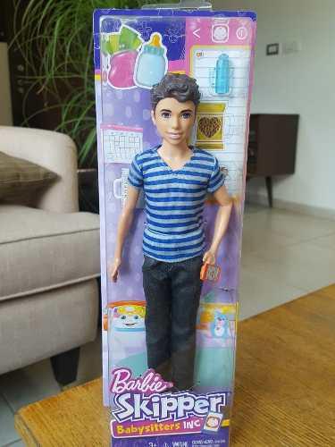 Muñeco Dylan De La Línea Skipper Babysitters De Barbie