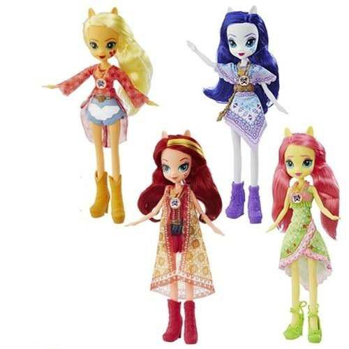 My Little Pony Set De 4 Piezas Equestria Girls Legend Everfr