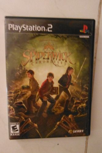Ps2 Playstation 2 The Spiderwick Chronicles Videojuego