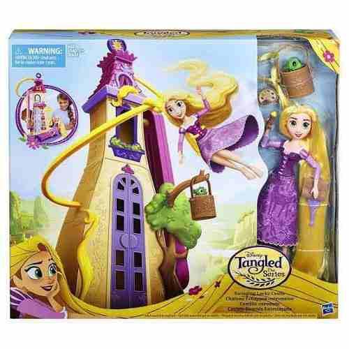 Rapunzel Castillo Enredados Disney