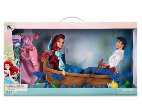 Set Delux Sirenita Erick Ariel Princesa Disney Store Bésala