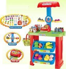 Súper Mercado Infantil De Juguete Niñ@ Bascula Exprés