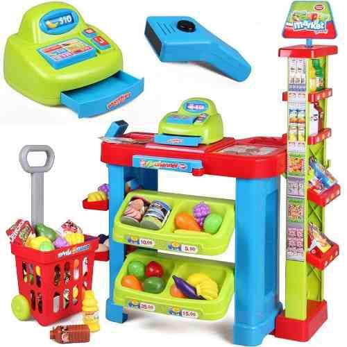 Súper Mercado Infantil De Juguete Niñ@ Carrito Incluido