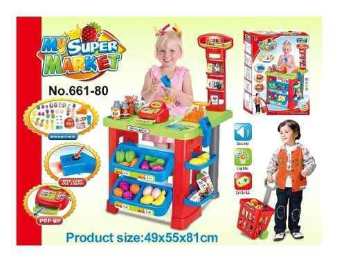 Súper Mercado Infantil De Juguete Niñ@ Envío Exprés Dhl