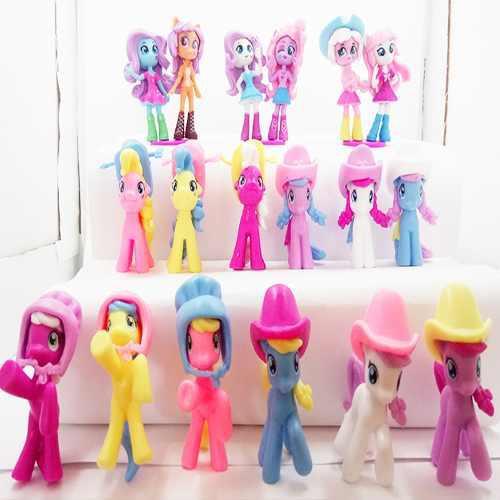 Super Colección My Little Pony Set 18 Pz + Envió Gratis