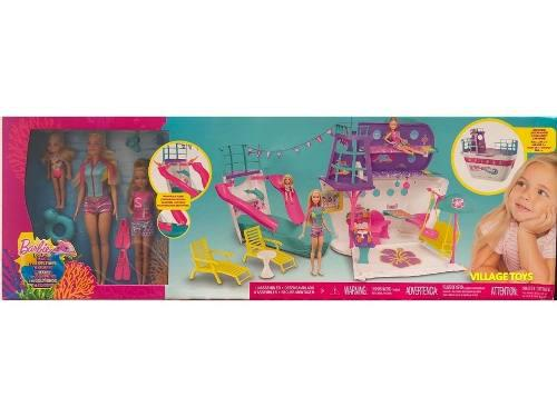 Super Set Viaje En Crucero De Barbie Y Sus Hermanas