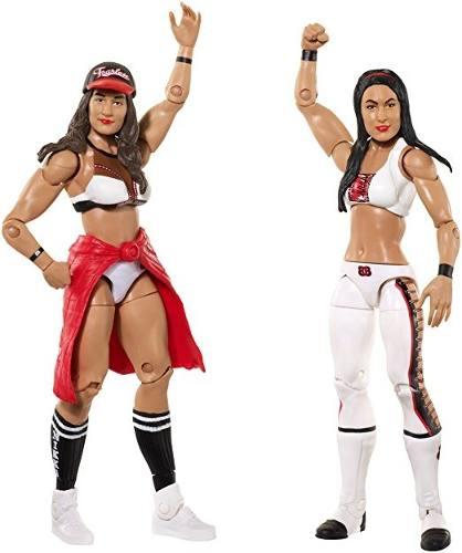 Wwe Nikki Bella & Brie Bella Figura De Acción (paquete De