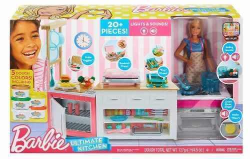 Barbie Cocina De Lujo Con Luz Y Sonido Mattel