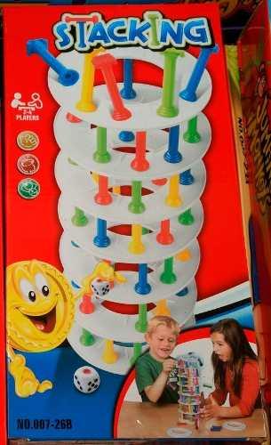 Juegos De Mesa Rompe Hielo Torre Stacking O Bounce A Elegir!