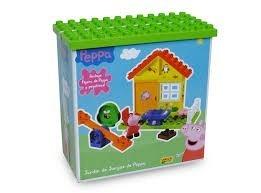Pepa Pigg Casa Y Jardin De Juegos De Peppa Bloques Construcc