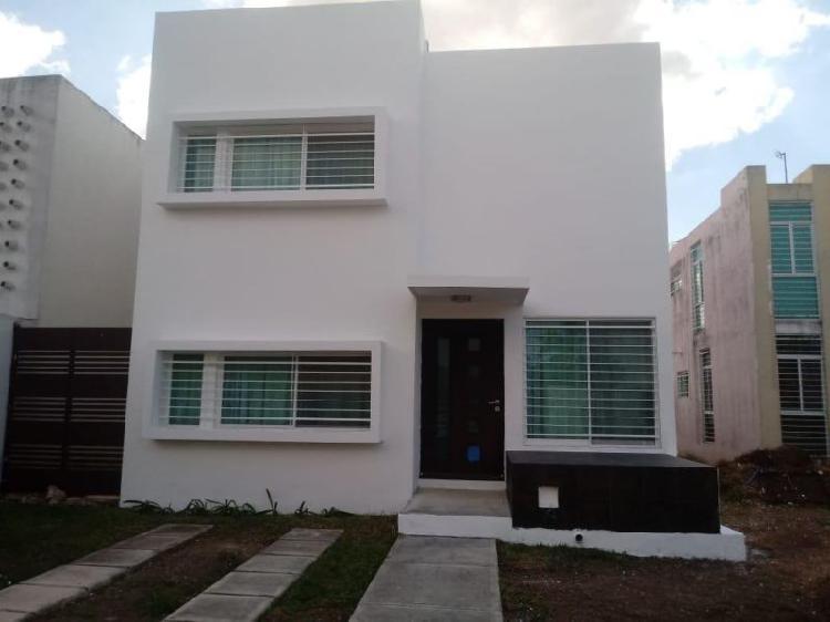 Renta de Casa Gran Santa fe II, Caucel, Yucatán