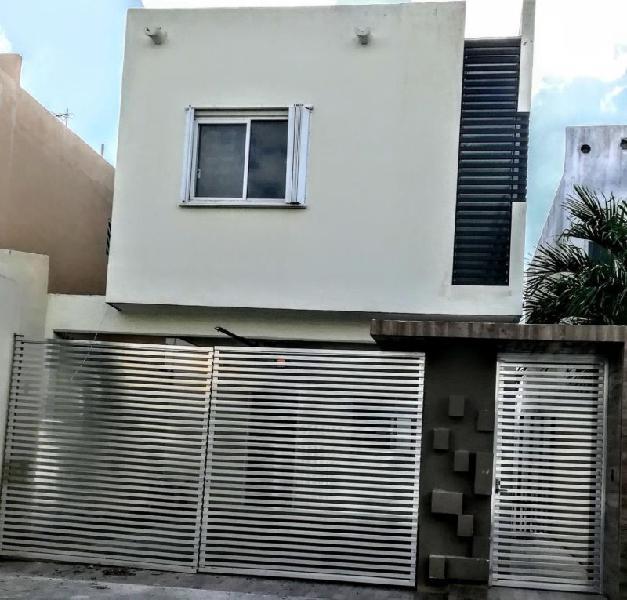 Rento casa 3 recamaras, Privada Islazul, Cancun