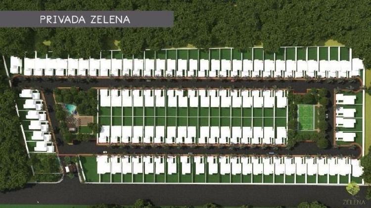 Terreno venta Privada Zelena, Conkal /