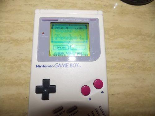 1 Game Boy Clasico Con Lupa Excelente Estado Coleccionista