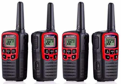 2 Kit Radios Midland X Talker T31vp3-2 41km* 26 Mi Vs Agua
