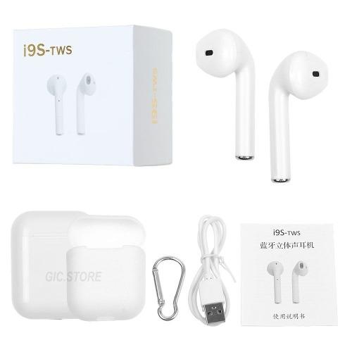 Audífonos Bluetooth Con Carga Inálambrica I9s Tipo Airpods