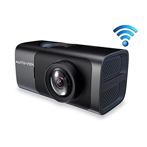 Auto-vox D7 Wifi Dash Cam, Cámara De La Rociada Con Gps Fhd