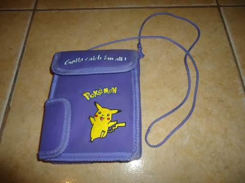Bolsa Estuche Pokemon Pikachu Para Guardar Gameboy Color