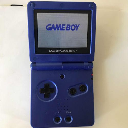 Consola Gameboy Advance Sp Ags 101 Doble Luz